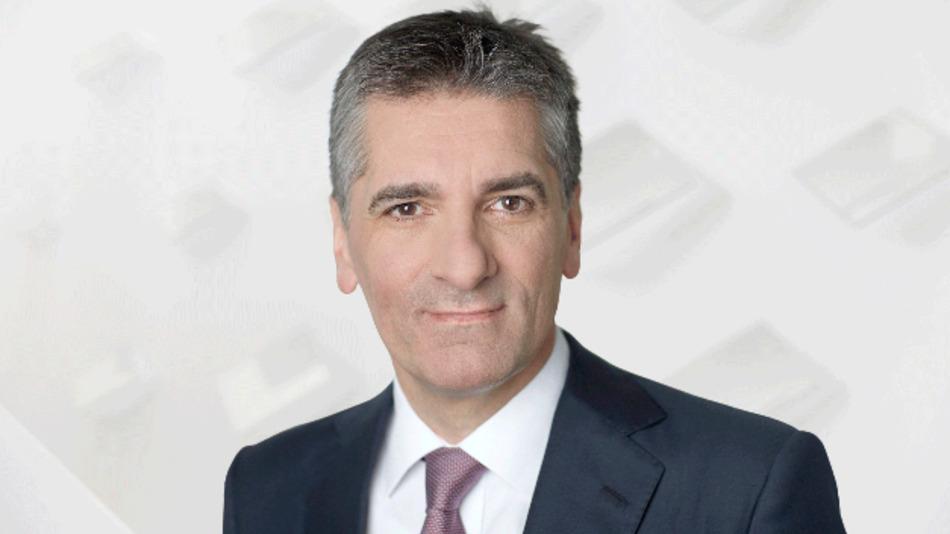 Klaus Deller, Vorstandsvorsitzender und Verantwortlicher für die Division Systeme für Schienenfahrzeuge
