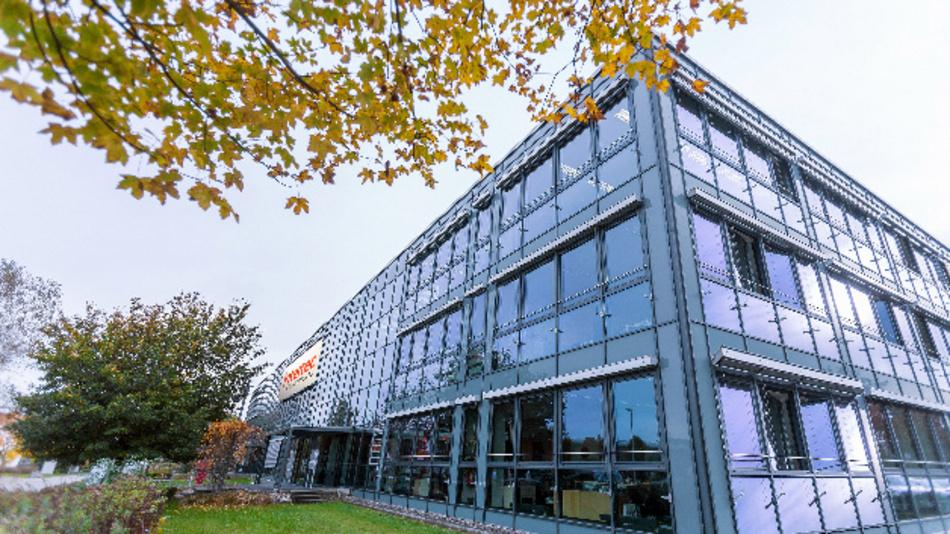 Firmensitz der Intertec Components in Hallbergmoos bei München