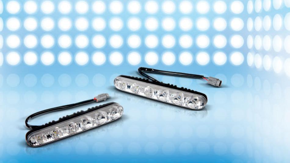 Hoche Qualitätsanforderungen bei LEDs in der Autoindustrie.