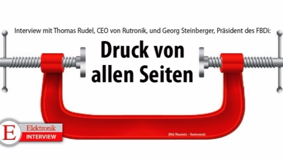 Exklusiv-Interview mit Thomas Rudel (Rutronik) und Georg Steinberger (FBDi)