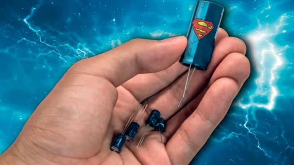 Superkondensatoren erreichen immens hohe Speicherkapazitätswerte