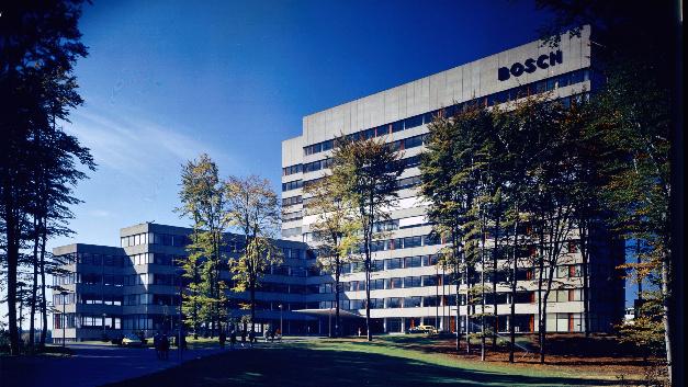 Die Konzernzentrale von Bosch auf der Schillerhöhe in Stuttgart.