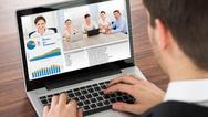 Videokommunikation Laptop
