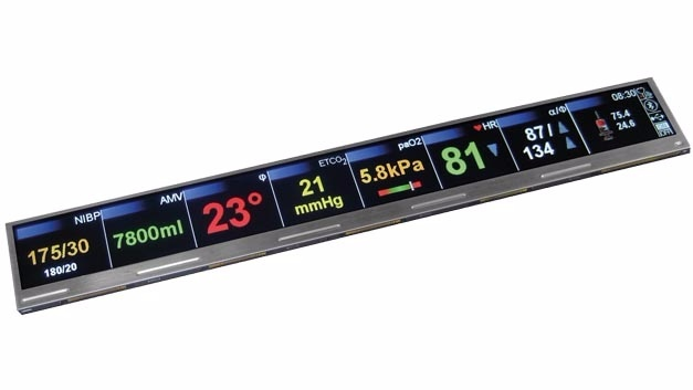 Das BTFT1280120C-0 ist ein 11-Zoll-Display im Format 32:3. Es passt z.B. in Serverracks mit 1 HE.