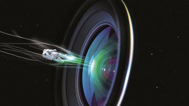 Videokommunikation Weltraum