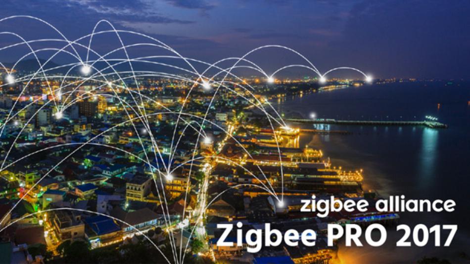 ZigBee PRO 2017: zwei Bänder in einem Netzwerk