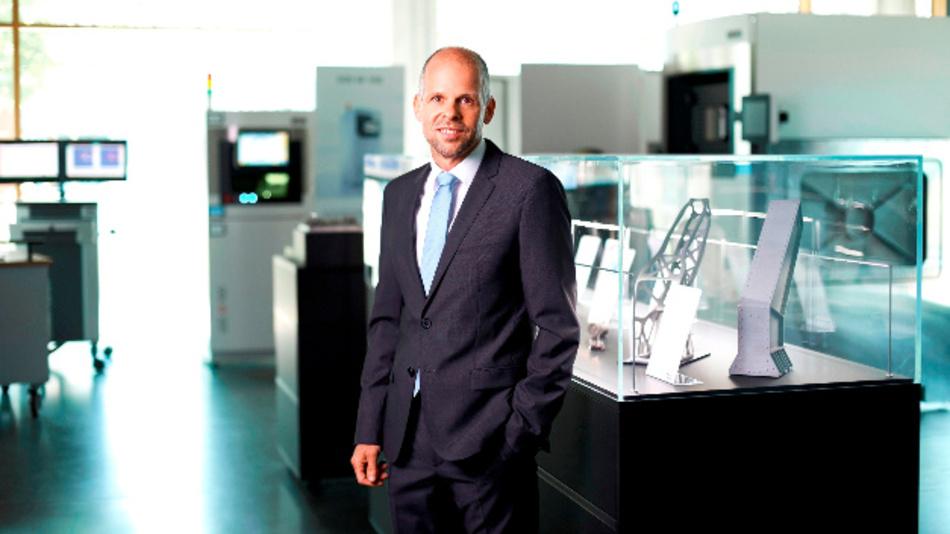 Dr. Adrian Keppler, ab sofort CEO und Sprecher der Geschäftsführung der EOS GmbH