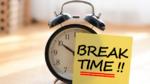 Pausen erhöhen die Produktivität