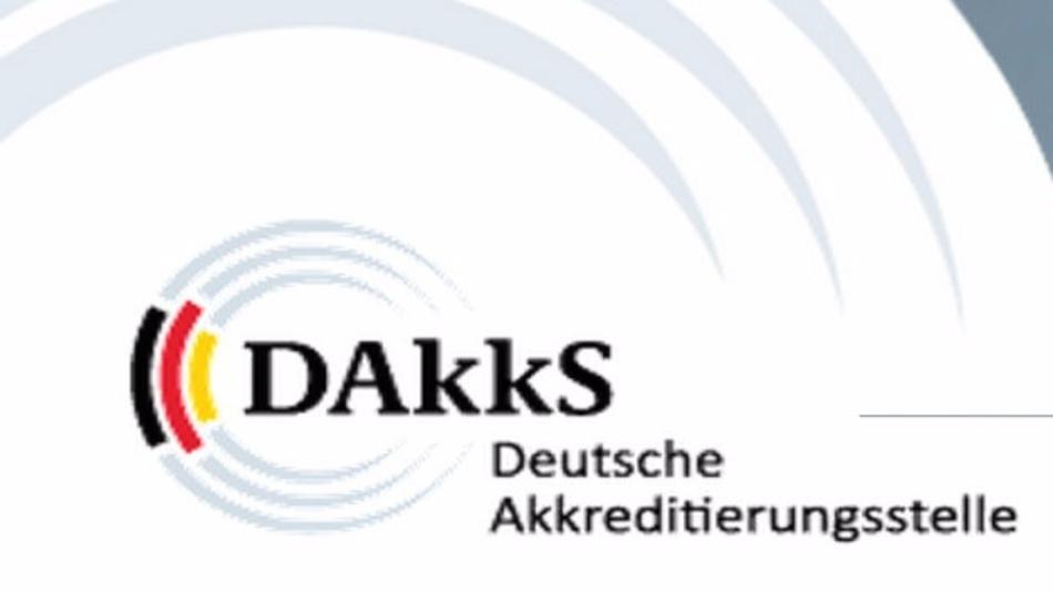 Logo der DAkkS