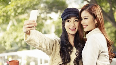 Smartphones Selfie