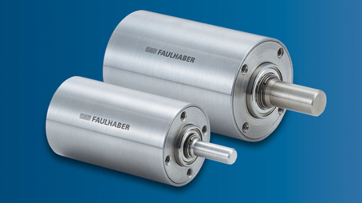Die neuen Metall-Planetengetriebe von Faulhaber zeichnen sich durch ihre hohe Drehzahl aus.