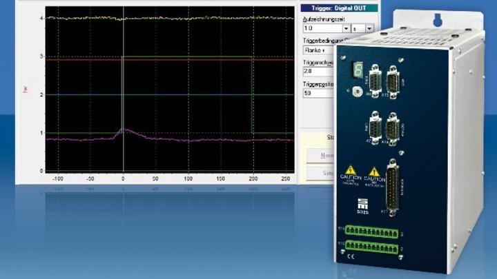 Frequenzumrichter und Servoverstärker für das Condition Monitoring von Bearbeitungsmaschinen.