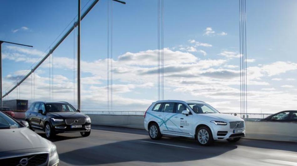 Volvo, Autoliv und Nvidia arbeiten künftig gemeinsam an der Software-Entwicklung für autonome Fahrzeuge. Bereits seit Anfang des Jahres sind 100 selbstfahrende Volvos im Rahmen des Projekts »Drive Me« rund um Göteborg unterwegs.