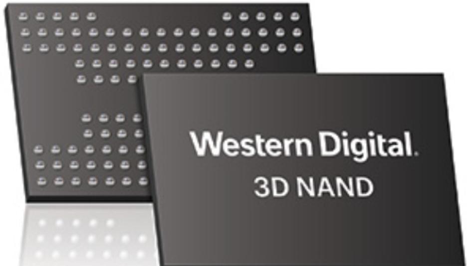 Die Lieferung der 96-Layer-NAND-Flash-Speicher in Stückzahlen will Western Digital Anfang 2018 aufnehmen, zunächst in Form von 256-GBit-Chips, dann sollen TBit-Chips folgen