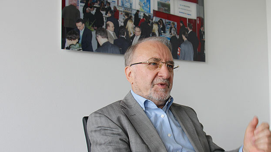 """Prof. Leo Lorenz: """"Mitarbeiter spüren es sehr schnell, wenn Ihnen etwas vorgemacht wird""""."""