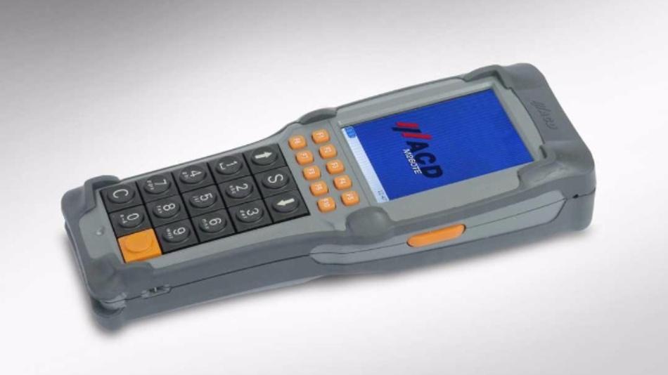 Standardgerät mit Funktionstasten und numerischem Tastenblock.