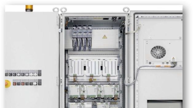 Energieeinsparungen von bis zu 23 Prozent realisiert Lütze bei der Schaltschrankkühlung mit seinem Thermikkonzept.