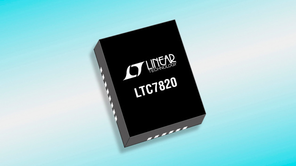 72V-Hochleistungs-Ladungspumpen-Controller mit festem Übersetzungsverhältnis LTC7820.