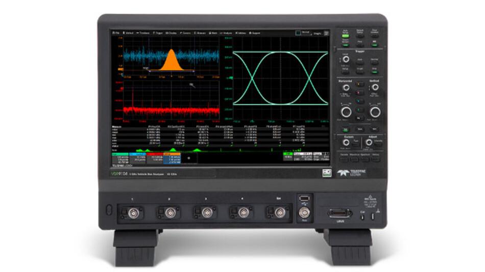 """Alle Signaldetails im Blick: Der Vehicle Bus Analyzer VBA9000 von Teledyne LeCroy mit HD1024-Technologie und 15,4""""-Touchscreen"""