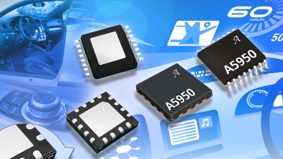 Der Motor-Treiber-IC eignet sich unter anderem für Automotive-Anwendungen.