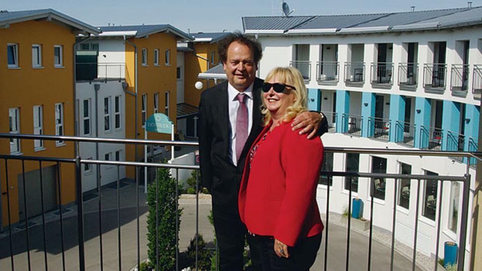 Albert und Silvia Meilhaus. Seit gut zwei Jahren sitzen Vertrieb, Entwicklung und Geschäftsführung von Meilhaus Electronic in den neuen Gebäuden in Alling bei München.