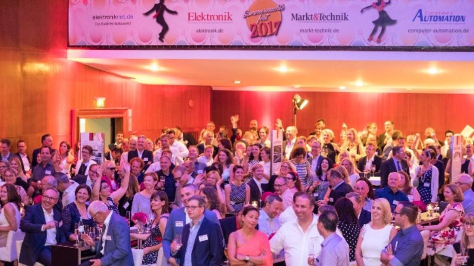 Die Markt&Technik-Familie auf dem Sommernachtsfest 2017.