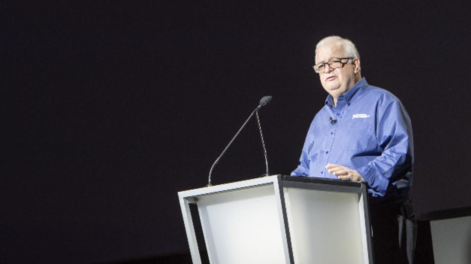 Auch das ist Jeff Kodosky, ca. 25 Jahre später, bei der Präsentation des neuen LabVIEW NXG.
