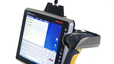 Die Stapler-Terminals der Serie SH Blackline von Soredi werden künftig weltweit von Datalogic vertrieben.