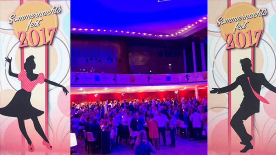 Im Stil der 50er Jahre: WEKA Sommernachtsfest 2017 in der Alten Kongresshalle München.