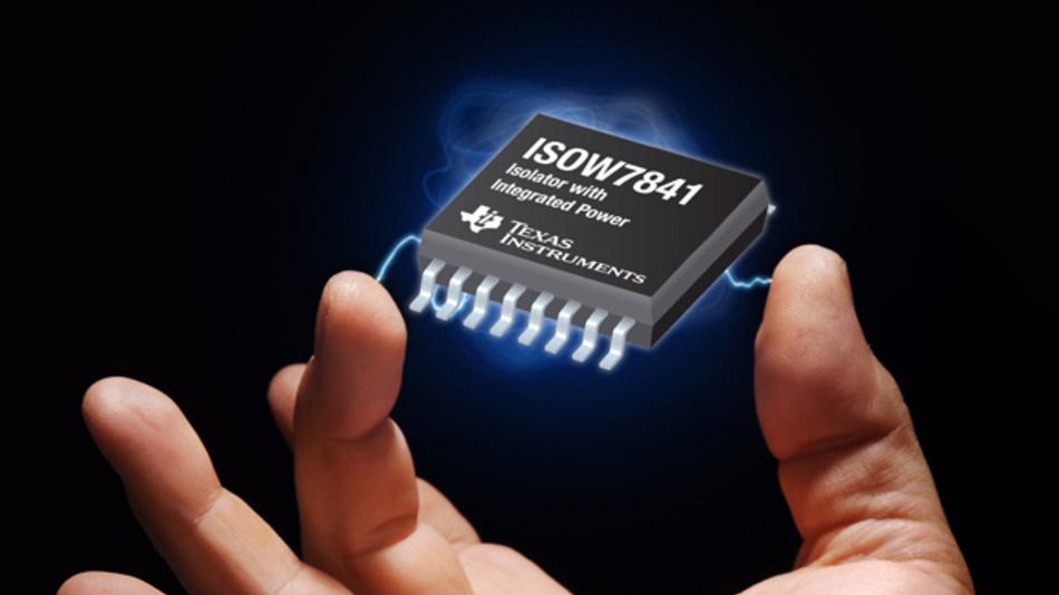 Digitaler Koppler mit integriertem DC/DC-Wandler: ISOW784x