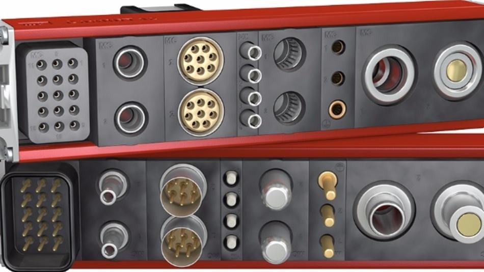 Zur Stäubli Gruppe gehört die Firmentochter Stäubli Electrical Connectors, die u.a. das modulare Steckverbindersystem CombiTac für Signale, Daten, Leistung, Fluid und mehr produziert
