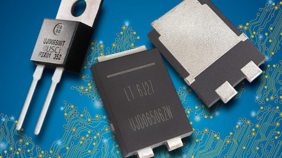 Die SiC-Schottky-Dioden sind in verschiedenartigen Gehäusetypen erhältlich, nun auch im F5-Gehäuse.