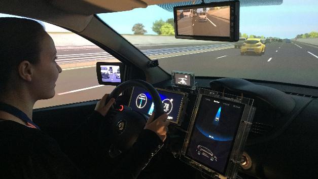 Simulationen beschleunigen den Entwicklungsprozess zum autonomen Kraftfahrzeug.
