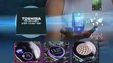 Toshiba hat in seinen ApP-Lite-Prozessor für Wearables (TZ1201XBG) on-chip Grafikbeschleuniger und vier 2D-Grafik-Engines integriert.