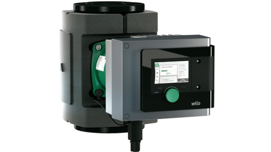 """Die erste Smart-Pumpe der Welt, Wilo-Stratos MAXO, wurde mit dem Preis """"Design Plus powered by ISH"""" ausgezeichnet"""