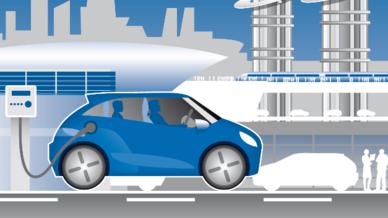 Grafik Elektromobilität