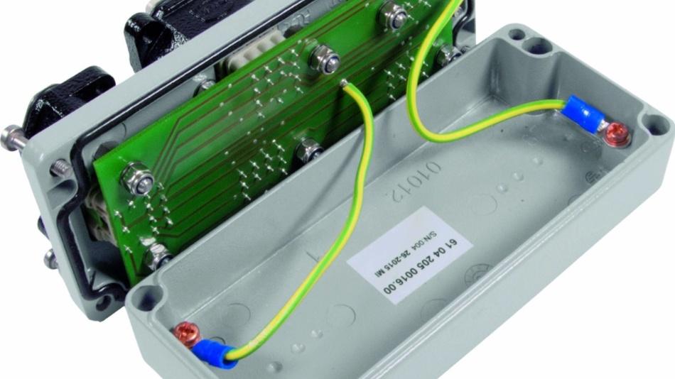 Bild 1: In diesem Metallgehäuse verpackte Harting Customised Solutions das LED-Nachrüstlicht für Lokomotiven.