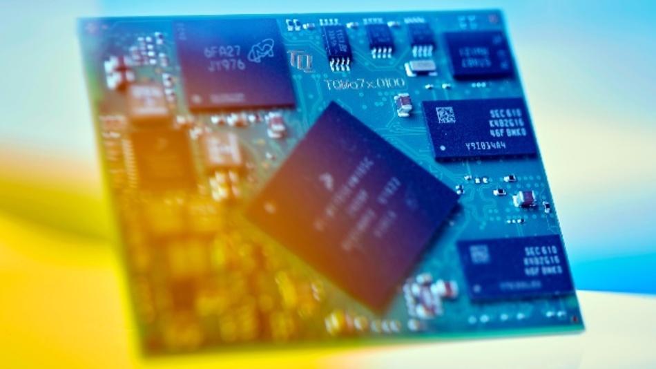 Das Minimodul TQMa7x, basierend auf dem Prozessor i.MX7 von NXP, vereint die ARM Dual Cortex-A7 Kerntechnologie mit einer Vielzahl an Schnittstellen.