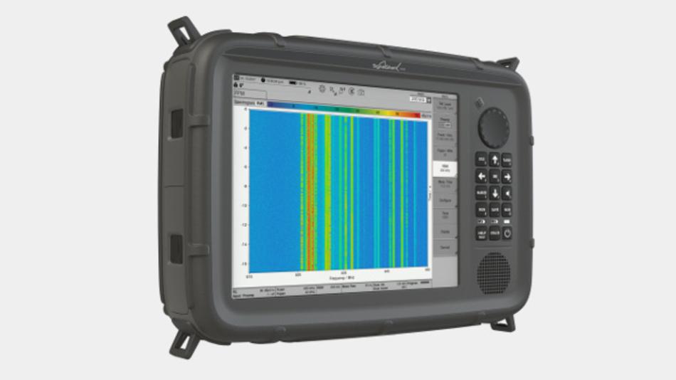 Der tragbare Signalanalysator Signal Shark.