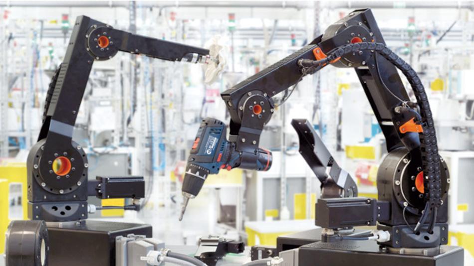 """Mit Einführung der Robolink D-Kits von RS und IGUS können Anwender darauf vertrauen, eine Roboterlösung zu erhalten, die genau ihren Bedürfnisse entspricht. Das """"dumbing down"""" einer viel teureren Einheit gehört der Vergangenheit an."""