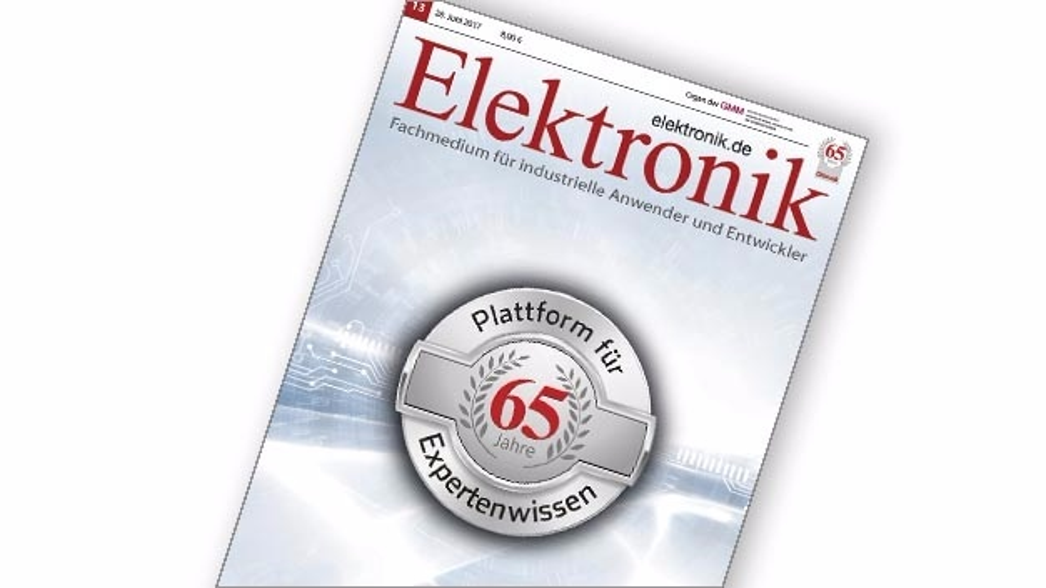 Jubiläumsausgabe Elektronik 13/2017: 65 Jahre Elektronik