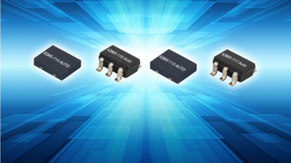 IQDs MEMS-Oszillator-Familie ist für den Standard-Temperaturbereich im Auto von -40 bis +125 °C ausgelegt.