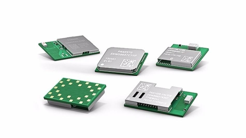 Breites Angebot an Bluetooth- und WiFi-Modulen