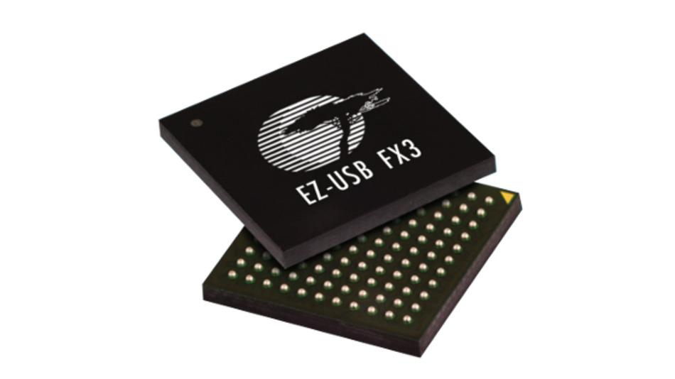 Die Cypress EZ-USB FX 3 USB 3.0-Controller können nun mit VarioTAP erstmals in den Board-Test integriert werden.
