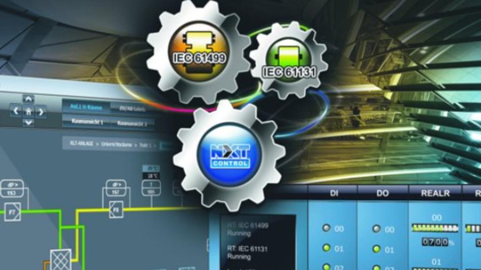 Die Echtzeit-Steuerungs-Software von nxtControl ermöglicht objektorientiertes Engineering mit vorgefertigten Software-Objekten.