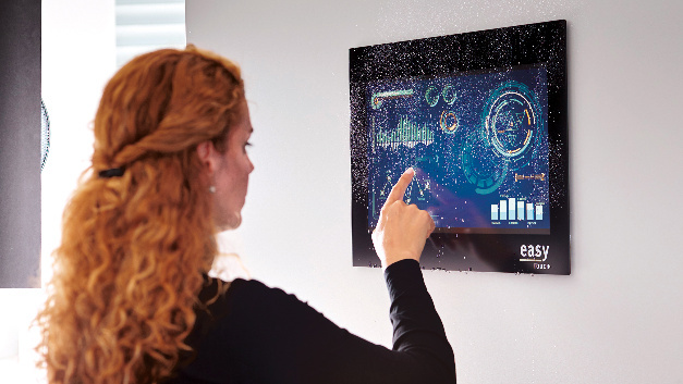 In die drei Kategorien Entry, Advanced und Professional Level splittet sich Data Moduls Konzept easyTouch Displays auf.