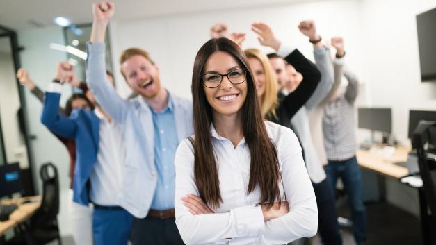 Deutsche Beschäftigte gehen mit Lust und Freude zur Arbeit