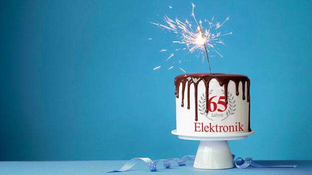 Ein Grund zum Feiern: Die Elektronik wird in diesem Jahr 65 Jahre alt.