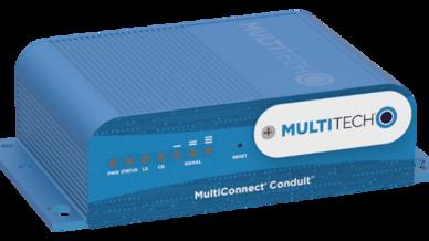 """Das programmierbare Gateway """"MultiConnect Conduit"""" bildet den Kern des """"Conduit LoRa Starter Kit"""" von Multi-Tech Systems."""