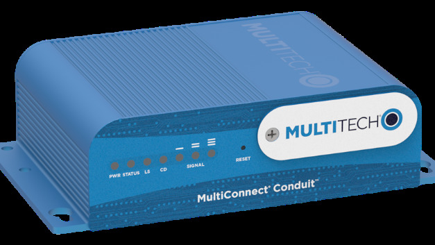"Das programmierbare Gateway ""MultiConnect Conduit"" bildet den Kern des ""Conduit LoRa Starter Kit"" von Multi-Tech Systems."